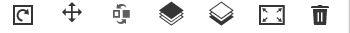 Fotocollage bei Snapfish gestalten: Toolbar