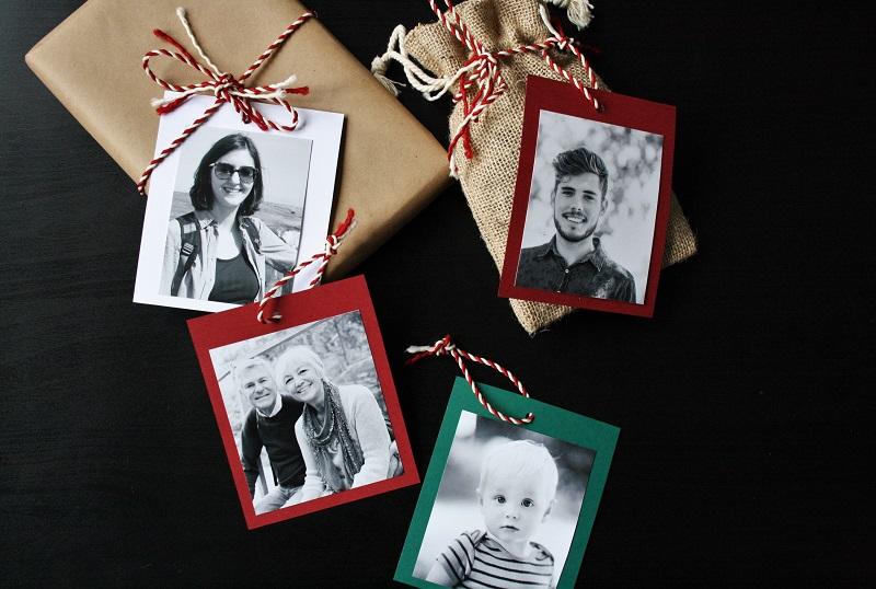 Foto-Geschenkanhänger - kreativ und persönlich