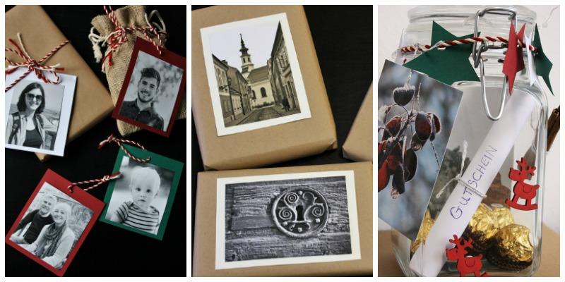 3 einfache Ideen zum Weihnachtsgeschenke verpacken