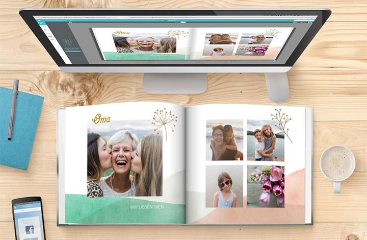 In 4-Schritten ein Fotobuch erstellen